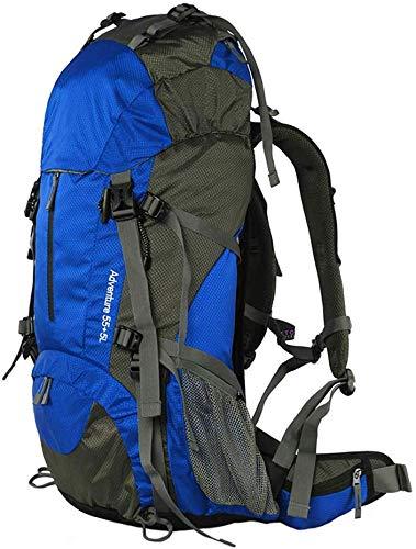 WYJW Outdoor rugzak bergbeklimmen tas afneembare dragen mannen en vrouwen multifunctionele grote capaciteit RAIN COVER schoudertas multicolor 60L
