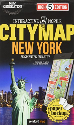 Interactive Mobile CITYMAP New York: Stadtplan New York 1:16 000 (High 5 Edition CITYMAP Collection)