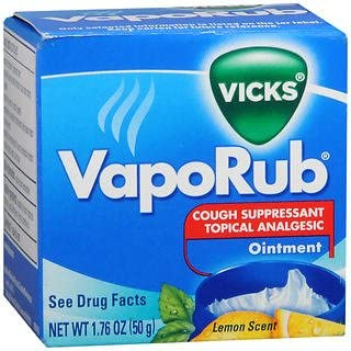 Vicks VapoRub Ointment Max 50% OFF Raleigh Mall Lemon Scent - oz jar Pack of 1.76 5