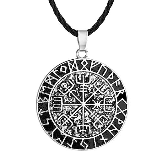 ShZyywrl Collar De Joyas Regalos para Aniversario Cumpleaños De La Madre Collar Hombres Punk Antiguo Egipcio Ojo De Horus Amuleto Colg