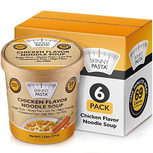Skinny Pasta Healthy Shirataki Noodle Soup Chicken Flavor  ...