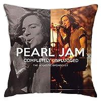 枕カバー 防ダニ Pearl Jam パールジャム ピローケース 睡眠クッションカバー まくらカバー 隠れジッパー 用ソファリビングルーム