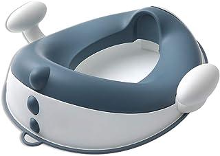 補助便座 ベビー おまる トイレトレーニング 柔らかい 幼児用トイレ便座 子供用 (青い)