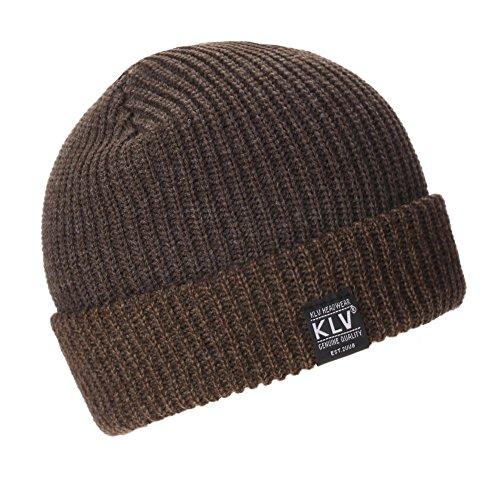 Haptian Ski hoed, Chic dames heren unisex warme winter gebreide muts Fashion Cap Hip-Hop Ski Beanie Hat Koffie