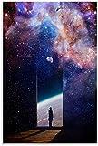 APAZSH Posters para Pared Póster de Arte en Lienzo de Stardusts y Poster de Decoracion de impresión de Cuadros artísticas de Pared 60x90cm x1 Sin Marco