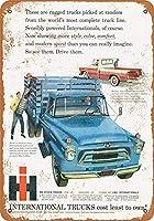 1958インターナショナルトラックスコレクティブルウォールアート