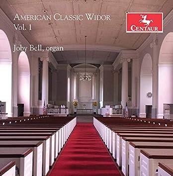 American Classic Widor, Vol. 1
