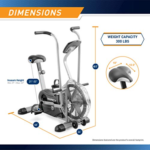 Marcy Air 1 Fan Exercise Bike