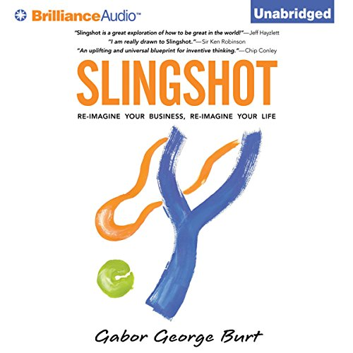 Slingshot audiobook cover art