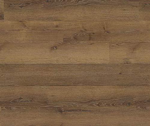 HORI® Klick Vinylboden PVC Bodenbelag I Wasserfest I viele Dekore wählbar I Eiche Basic Nürnberg I HANDMUSTER
