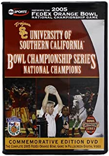 2005 FedEx Orange Bowl National Championship Game - University of Southern California