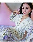 Bande Dessinée Belle Épaissir Chemises De Nuit Hiver Peignoir Femmes Pyjamas De Bain Flanelle Robe Chaude Vêtements De Nuit Femmes Robes Corail Velours, 8461, Taille Unique