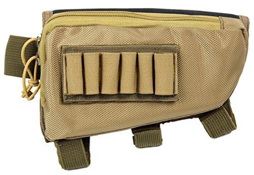 Tactical Sharpshooter Rifle Stock Pack | (Tan)