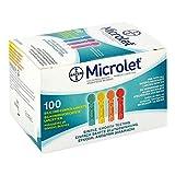 MICROLET Lanzetten farbig 100 St