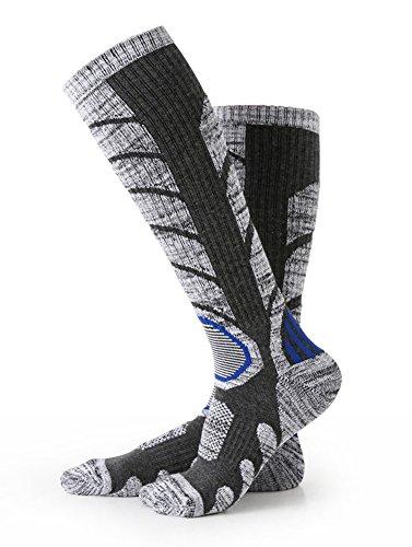 スキー 靴下 登山 靴下 厚手 スポーツ スキーソックス 暖かさ 防寒 防水 冬 クッション 滑り止め 吸汗速乾 ...