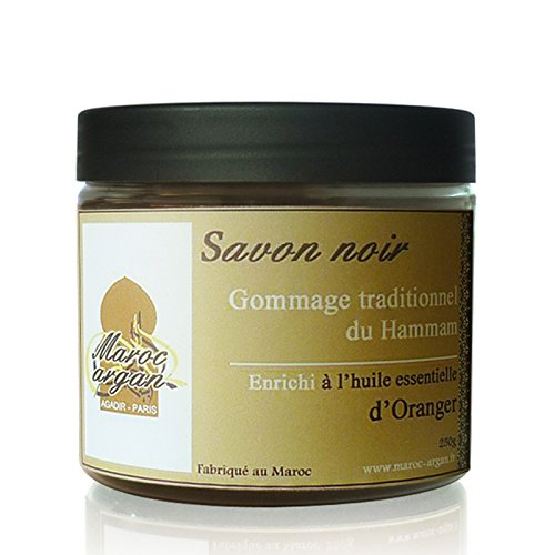 Gommage au Savon Noir à l'Oranger Traditionnel 100% Naturel
