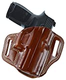 Galco Combat Master Belt Holster for Sig-Sauer P229, P228 (Tan, Right-Hand)