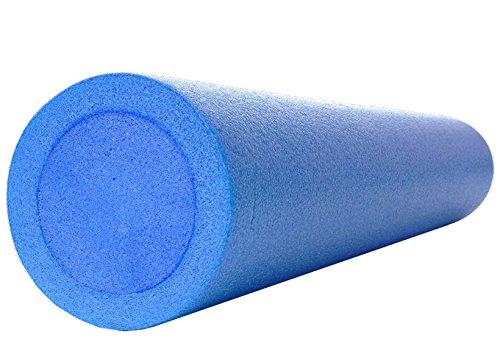 Kawanyo Yoga- & Pilatesrolle blau 90 cm 14,5 cm Ø Training Pilates Fitness