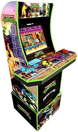 Arcade1Up Teenage Mutant Ninja Turtles Tmnt Home Arcade Machine 2 Games In 1 4 Foot Cabinet product image