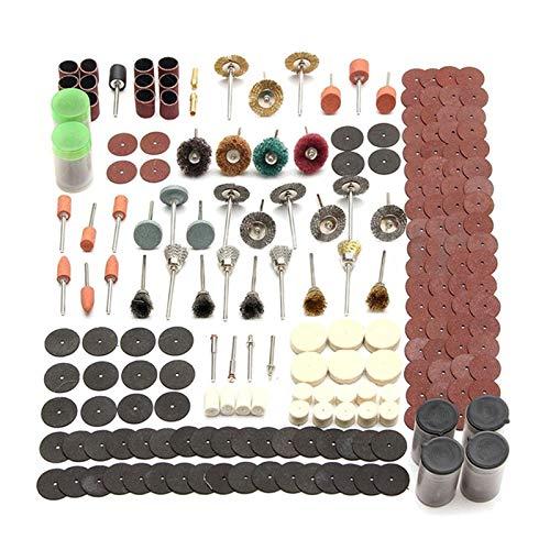 XCQ Rotationswerkzeug Zubehör für Mini-Bohrer Set Schleifwerkzeuge Schleifen Schleifpolierschneidwerkzeug Kits 343pcs / Set dauerhaft 0515