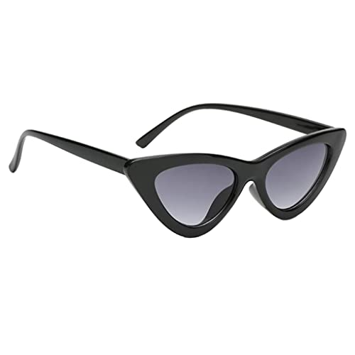 3127a2dc6c MagiDeal New Girls Women Mirrored Sunglasses Cateye Triangle Outdoor Glasses  UV400