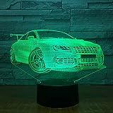 Sportwagen Nachtlicht Farbe Magic Lights Touch oder Fernbedienung Kinderzimmer Lichter auf der ganzen Welt Direct Mail-Schiff