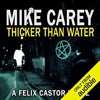 Thicker Than Water audiobook cover art