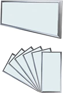 ECD Germany 6x LED 18W 60 x 30 cm - Ultraslim mince panneau 3014 SMD - Blanc froid - 6000K 220-240 V - environ 1450 lumens...