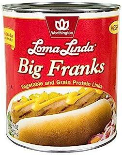 Loma Linda - Plant-Based - Big Franks (20 oz.) (Pack of 3) - Kosher