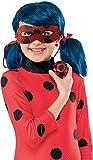 Rubie's - Coffret Accessoires Officiels Ladybug Miraculous - Perruque + Loup pailleté + Yoyo - Taille unique - I-300294