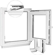 BxH: 45x45 cm 3 fach Verglasung Kellerfenster Fenster Kippfenster Premium wei/ß Breite: 45 cm x H/öhe: Alle Gr/ö/ßen