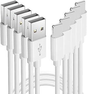Jeffica iPhone充電ケーブル 急速充電 ライトニングケーブル USB充電 【5本セット 1m+1m+2m+2m+3m】lightningケーブル アイフォン 断線防止 iPhone X/XS/XR/8/8Plus/7/7 Plus/6/6s/5/iPad/iPod対応
