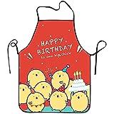 Myrdora Happy Birthday Super Soft For Teens Grembiule da cucina Easy Features Grembiule da Grill