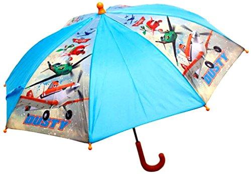 Disney 3745 mws1737 paraplu, motief vliegtuig, 65 x 76 cm, blauw