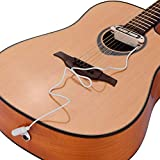 Bedler VS-80 Passive Guitar Soundhole Pickup Humbucker Pick-up Transductor 6.35mm Endpin Jack para guitarra acústica folk