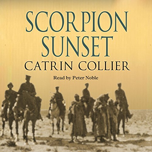Scorpion Sunset audiobook cover art