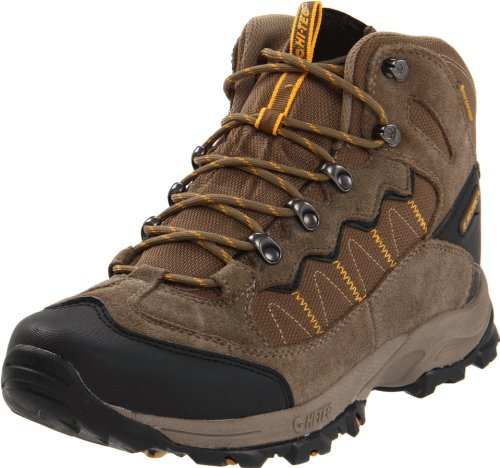 Hi-Tec Men's Ocala Waterproof Hiking Shoe,Smokey Brown/Taupe/Gold,10.5 M US