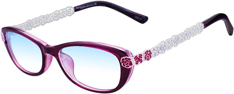 el mas reciente Lejos Lejos Lejos y cercanos de Doble Uso Gafas de Lectura Moda Femenina Anti-Azul Elegante Doble luz +2.0 ( Color   púrpura , Talla   200 Degrees )  a la venta