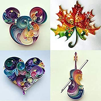 Quilling Paper 600 Strips Pure Color Pure Color Origami Paper 3mm Width Colorful DIY Hand Craft Quilling Paper Black