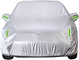 Car Cover Compatible with Ford Focus Car Car Cover Silver Outdoor Indoor Protector All-Weather Protection Car Full Cover Rain and Sun Snow and Dustproof Car Cover Waterproof (Size : Hatchback)