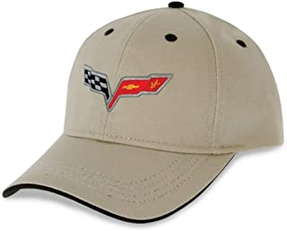 C6 Corvette Heritage Hat - Stone - Embroidered
