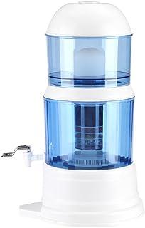 Filtre à eau potable 16L, Purificateur d'eau par gravité pour éliminer les sédiments, Filtre à eau avec filtre amovible, A...