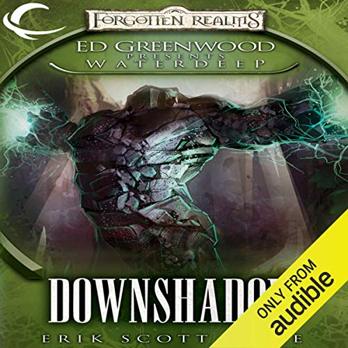 Downshadow audiobook cover art