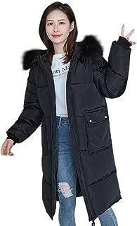 COTTONI Fashion Women Winter Autumn Warm Casual Hooded Down Long Jacket Overcoat Outwear