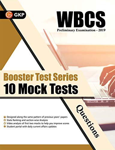 Booster Test Series 2019 - WBCS General Studies - 10 Mock Tests (Questions, Answers & Explanations)
