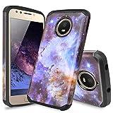 TJS Phone Case Compatible with Motorola Moto E4 Plus, Dual