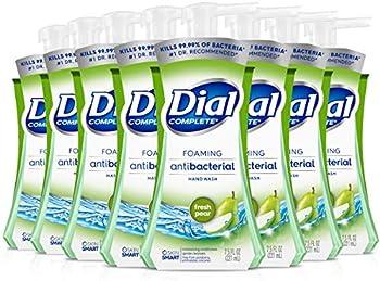 8-Pack Dial Complete Antibacterial Foaming Hand Soap 7.5 Fl Oz