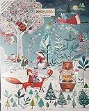 Heilemann - Adventskalender weiße Schokolade Weihnachten - 175g