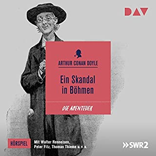 Ein Skandal in Böhmen (Die Abenteuer des Sherlock Holmes - Hörspiel 1) Titelbild