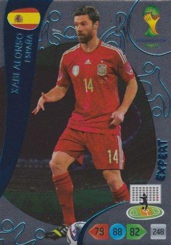 Adrenalyn XL FIFA World Cup 2014Brazil Xabi Alonso Expert